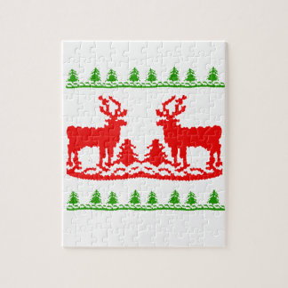 Ugly Christmas Sweater Jigsaw Puzzles