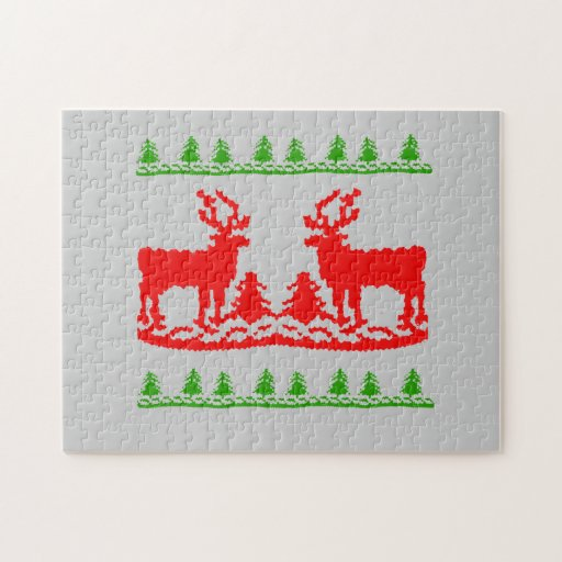 Ugly Christmas Sweater Puzzles
