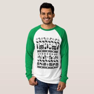 Ugly Christmas Sweater Raccoon