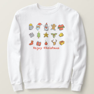 Ugly Christmas sweater With Enjoy Christmas Text