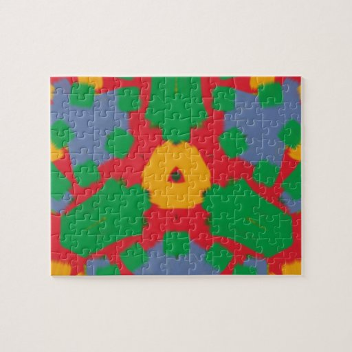 Ugly colorful pattern puzzles