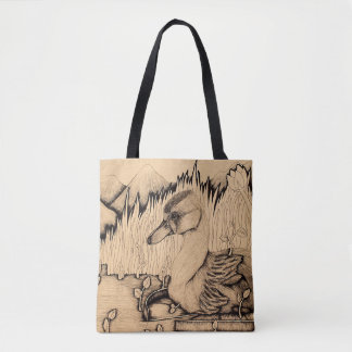 """Ugly Duckling"" Tote Bag"