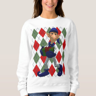 Ugly elf for an ugly Christmas Sweatshirt