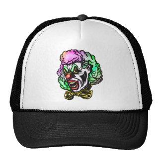 Ugly Evil Clown Mesh Hat