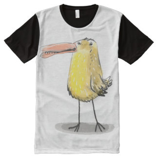 ugly huge yellow chick All-Over print T-Shirt