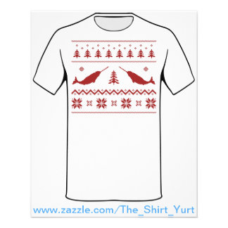 Ugly Narwhal Christmas Sweater 11.5 Cm X 14 Cm Flyer