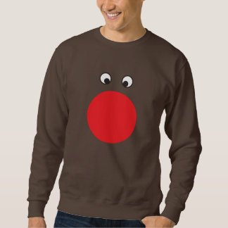 Ugly Red Nosed Sweater