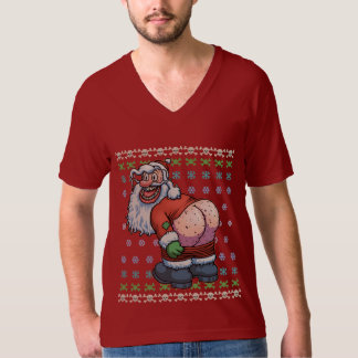 Ugly Santa Moon T-Shirt