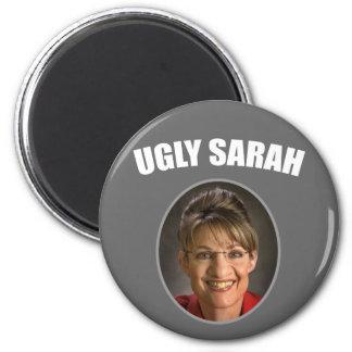 Ugly Sarah 6 Cm Round Magnet