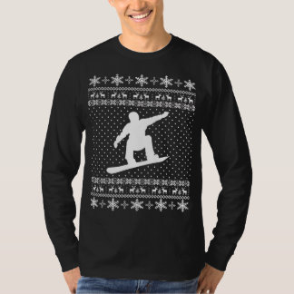 Ugly Snowboarding Christmas Sweater