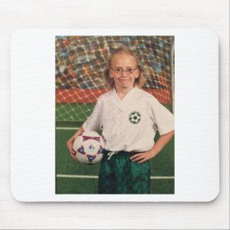 ugly soccer mousepad