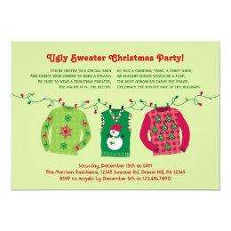 Ugly Sweater Party Invitations & Announcements | Zazzle.com.au