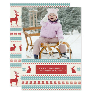 Ugly Sweater Christmas Photo Cards