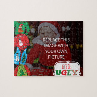 Ugly sweater Christmas puzzle
