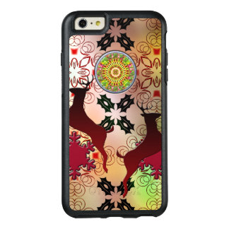 Ugly Sweater Christmas Reindeer Design OtterBox iPhone 6/6s Plus Case
