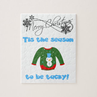 Ugly Sweater Jigsaw Puzzle