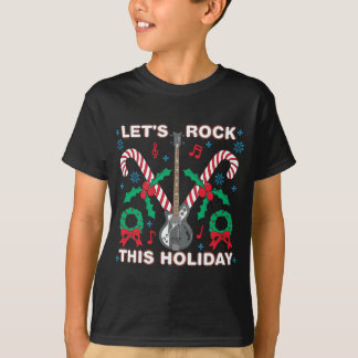 Ugly Sweater Lets Rock This Holiday Design Tee Shirt