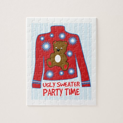Ugly Sweater Party Puzzle