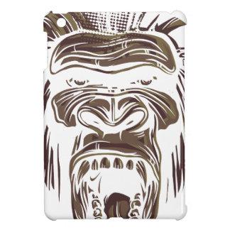 ugly vintage monkey iPad mini case