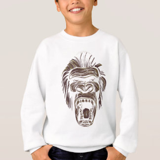 ugly vintage monkey sweatshirt