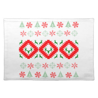 Ugly xmas 1 placemat
