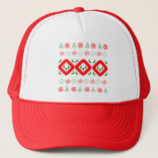 Ugly xmas 1 trucker hat