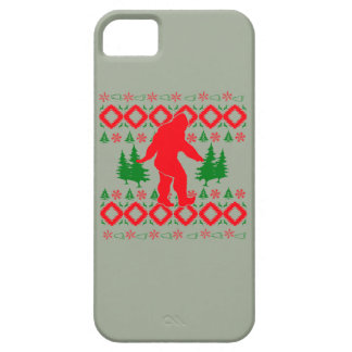 Ugly Xmas Bigfoot iPhone 5 Cover