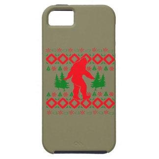 Ugly Xmas Bigfoot Tough iPhone 5 Case