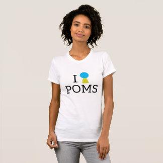 Ugraded I <3 Poms Crew Neck T-Shirt