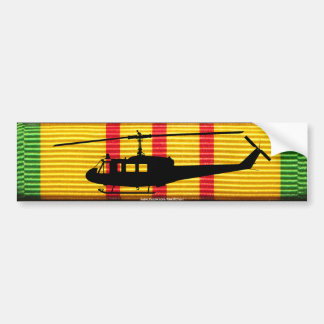 UH-1 Huey VSM Ribbon Bumper Sticker
