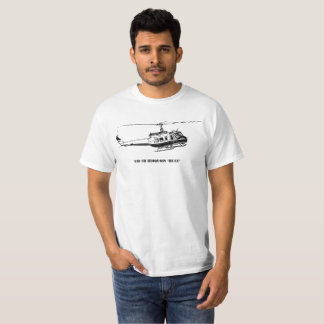 UH-1H Huey Helicopter T-Shirt