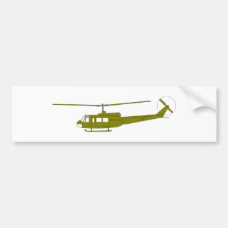 UH-1H 'Huey' Utility Helicopter Bumper Sticker