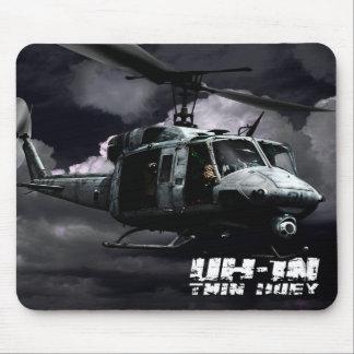 UH-1N Twin Huey Mousepad