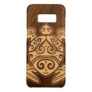 Uhane u'i Honu Faux Wood Hawaiian Turtle Case-Mate Samsung Galaxy S8 Case