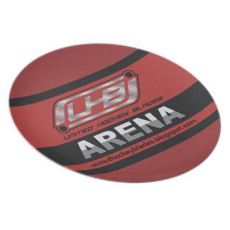 UHB Arena Logo Plate