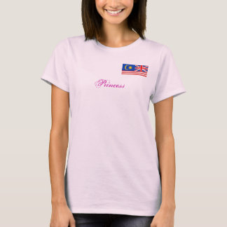 uk ad malaysian combined, Princess T-Shirt