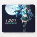 UK Anime Network Mouse Pad