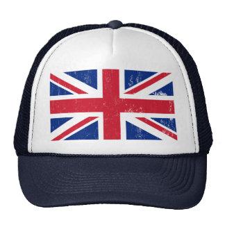 UK British Great Britain England English Flag Hats