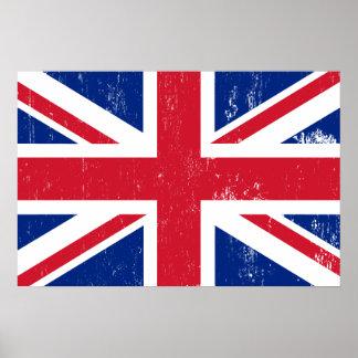 UK British Great Britain England English Flag Print