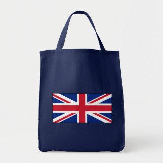 UK British Union Jack Flag Tote Bag