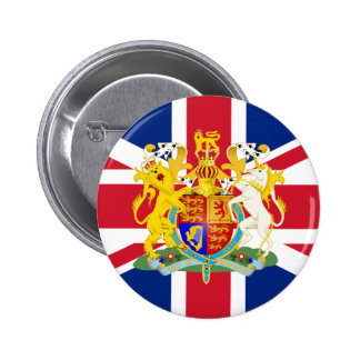UK Coat of Arms & Flag Buttons
