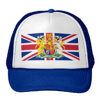 UK Coat of Arms & Flag Cap