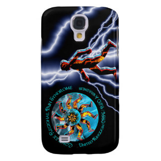 UK CRPS/RSD Awareness World of Fire & Ice I-phone  Galaxy S4 Cover