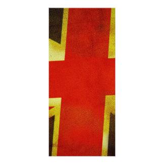 UK England Flag Rack Card Design