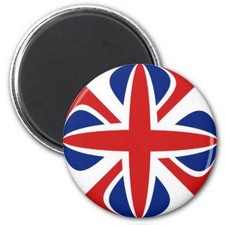 UK Fisheye Flag Magnet