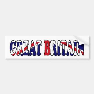 UK Flag British patriot Bumper Sticker