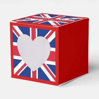 UK Flag British Union Jack Favour Box