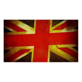 UK Flag Business Card Template
