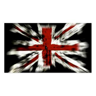 UK Flag Business Cards