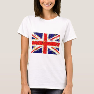 UK flag glitz glamour T-Shirt